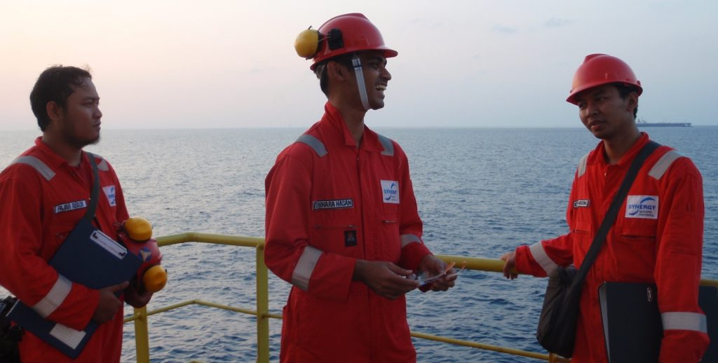 Synergy staff offshore