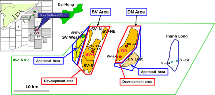 Simulation on Sao Vang and Dai Nguyet Development Project.